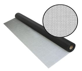 The only aluminum screen developed specifically to protect against tiny insects, this tightly -woven metal wire mesh also provides excellent visibility and air flow. Perfect for windows, doors or screened porch areas where gnats, black flies or no-see-ums are a problem. This product offers better tensile strength over traditional no-see-um fiberglass screen, while maintaining outstanding visibility and curb appeal.