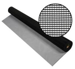 Black Aluminum Insect Screen