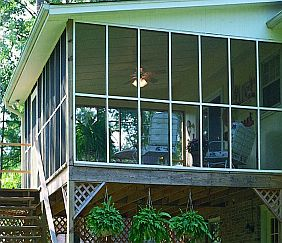 Phifer Charcoal Aluminum Porch Screen