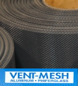 Phifer Vent Mesh is designed for use in foundations and attics, Phifers vent mesh provides insect protection and allows good air ventilation. It meets most building codes for net free areas, and is available in both Aluminum and Fiberglass.