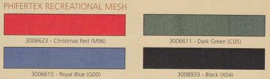 Phifertex Recreational Mesh