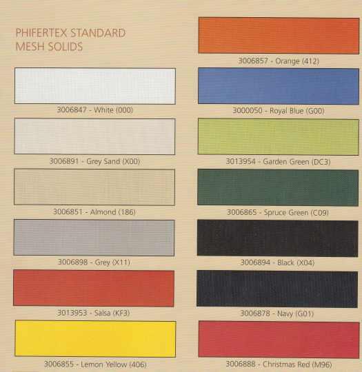 PhiferTex Standard Mesh