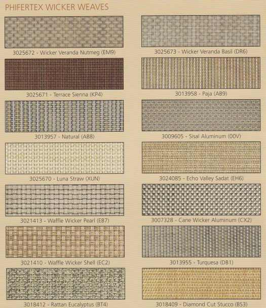 Phifer Wicker Weaves