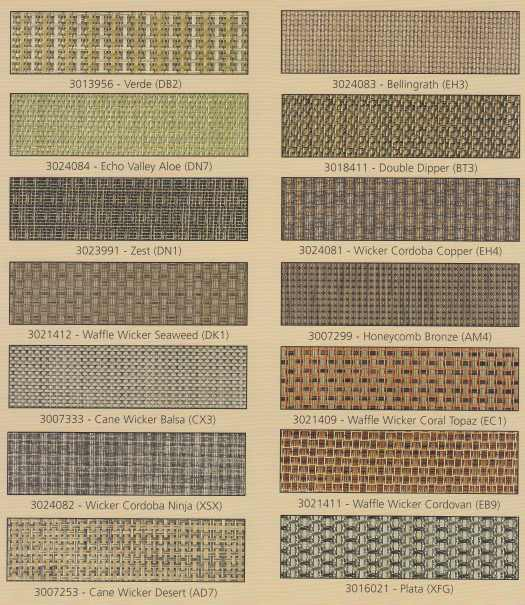 Phifertex Wicker Weaves