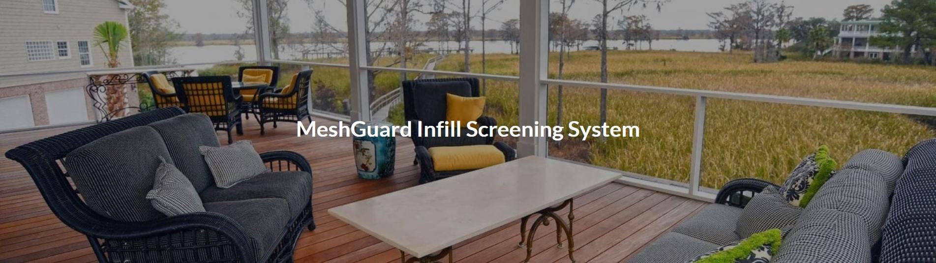 Screen Tight Mesh Guard Patio Screening