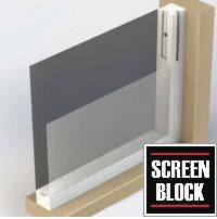 The best of both worlds — a screen porch that easily converts into an enclosed living area without having to remove your screens. Screen Block is the easiest way to enjoy your porch for 3+ seasons.