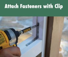 This unique reinforced PVC vinyl framing system allows you to screen from the interior or exterior of your porch using flat spline, in less time.