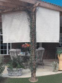 Phifer Suntex - Exterior Sun Shades (Shown here in Suntex 80 Stucco)