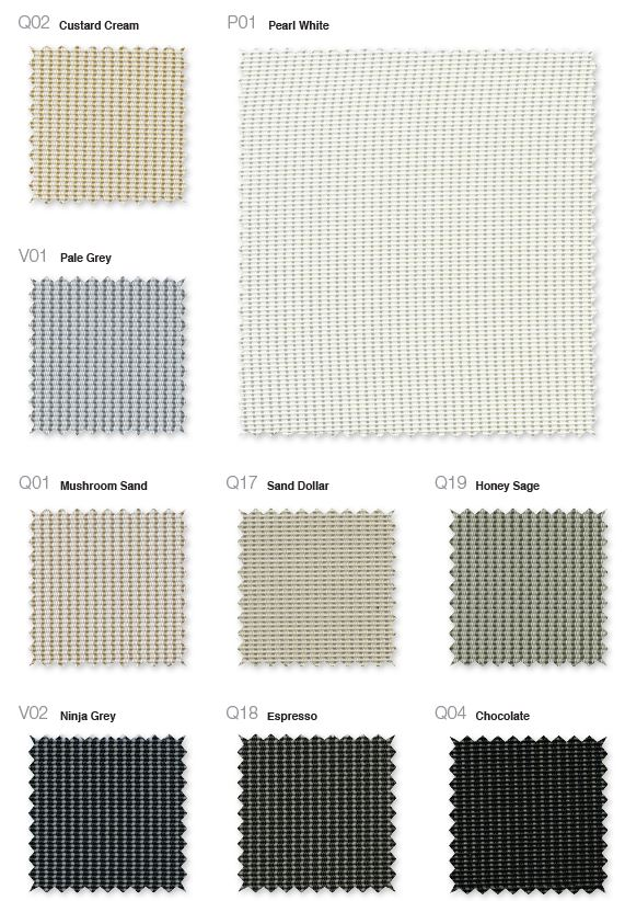Phifer Sheerweave 3000 colors