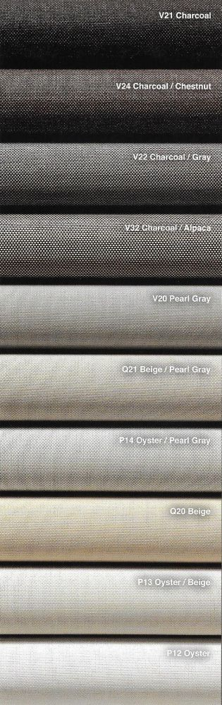 Phifer Sheerweave Styles  2390 Style 2360 Style 2410 and Style 2500 Colors