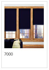 Style 7000 is uniquely designed to provide total light blockage when complete room darkening is needed. With a broad range of decorator colors, the look and feel of rich cloth and a PVC-free composition, Style 7000 will enhance the beauty and function of both commercial and residential spaces.