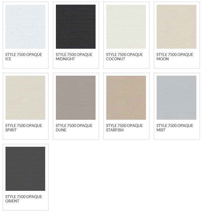 Phifer Sheerweave 7500 Blackout Fabric