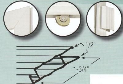 Sliding Screen Door Kit - Extruded Aluminum Frame