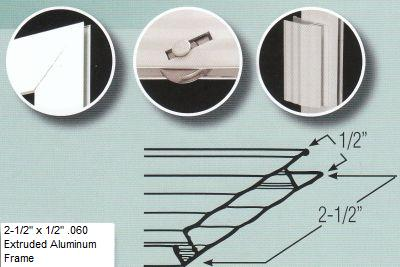 Sliding Screen Door Kit - Extruded Aluminum
