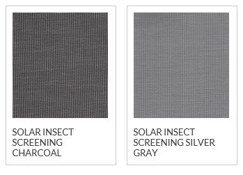 Phifer Solar Insect Screen Color Options
