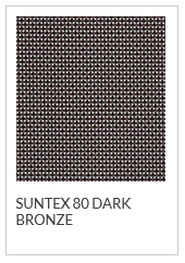 Phifer Suntex Dark Bronze - A combination of Black and Brown woven together