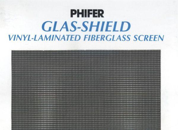 Phifer Glas Shield Vinyl Laminated 18x14 Fiberglass Screen