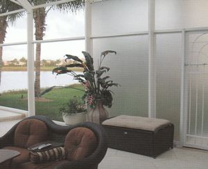 Florida Glass Phifer Glas Shield Vinyl Laminated 18x14
